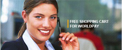 Free Shopping Cart for WorldPay